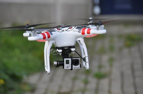 大疆正开发侦测app 任何人用手机就能探查1km内的无人机